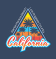 california - concept vector image
