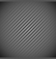 dark grey background pattern with slanting lines vector image