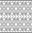 old-fashioned monochrome knitting pattern in vector image vector image