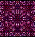 pink seamless kaleidoscope pattern background vector image vector image