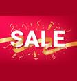 sale ads celebration banner template vector image vector image