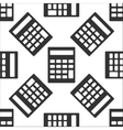 Calculator icon pattern vector image vector image