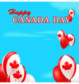 Canada Day background vector image vector image