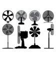 Electric fans vector image vector image
