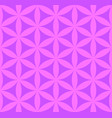 flower of life seamless pattern vector image