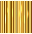 Golden stripes background vector image vector image