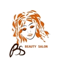 Hairstyle CARD FOR BEAUTY SALON IN WITH vector image vector image