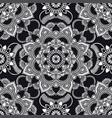 kaleidoscope mandala pattern ethnic ornament vector image vector image