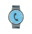 Smart watch modern wearable technology phone
