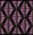 vintage polka dots seamless pattern black vector image
