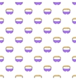 Sleep mask pattern cartoon style vector image