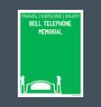 bell telephone memorial brantford ontario vector image vector image