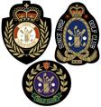 classic sport emblem badge design vector image vector image