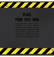 Danger Tape Background vector image vector image