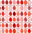 Easter wrapping paper seamless pattern vector image vector image