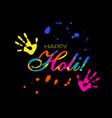 happy holi vector image