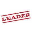 Leader Watermark Stamp vector image vector image