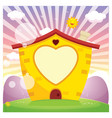 of a house vector image vector image