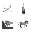 sport celebration winemaking and other vector image vector image