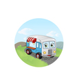 trailer fast food vector image