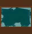 a school blackboard eps 10 vector image vector image