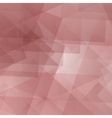 Geometric Pink Futuristic Background vector image vector image