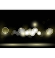 Night bokeh vector image vector image