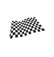 race flag icon template design vector image vector image