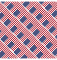 usa star flag pattern background vector image vector image