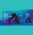 webdesign vector image
