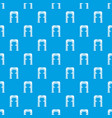 archway villain pattern seamless blue vector image vector image