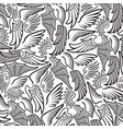 background pattern with wings vector image vector image