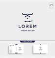 coding owl logo design bird coder symbol vector image vector image