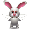 cute rabbit cartoon vector image vector image
