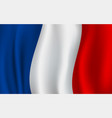 flag of france french national symbol vector image
