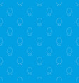 floor lamp pattern seamless blue vector image vector image