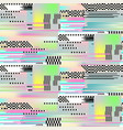 Glitch seamless pattern art digital abstract