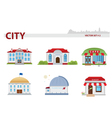 Public building set 2 vector | Price: 1 Credit (USD $1)