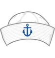 Sailor hat vector image vector image