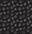 startup dark seamless pattern background vector image