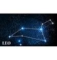 Symbol Leo Zodiac Sign vector image vector image
