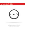 watch icon for web business finance and vector image