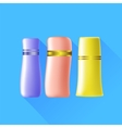 Cosmetic Tubes vector image