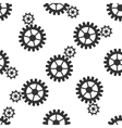 Gear icon pattern vector image