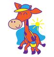 Giraffe School vector image vector image