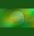 gradient fluid green yellow color abstract vector image