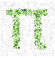 pi day poster vector image vector image