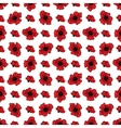 Seamless floral pattern with poppies vector image vector image
