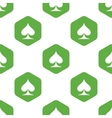 Spades symbol pattern vector image