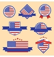 world flags series flag usa vector image